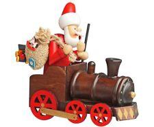 """Räuchermännchen """"Weihnachtsmann mit Lokomotive/ Zug """" Weihnachten ,Heiligabend"""