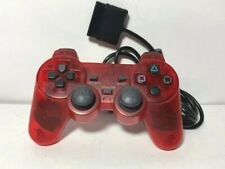 TTX Tech analog controller2 (red) for PS 1 & 2. used.Tested. Works!