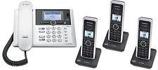 T-Sinus PA302i ISDN Telefon Anrufbeantworter 3 Mobilteilen Schnurlos Schnurgebun