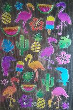 STICKER AUFKLEBER B3 Deko Bastel Kind Vogel Tier Obst Dschungel Urlaub Blume Zoo