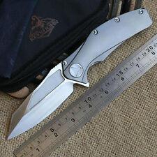 B008018 Kevin John matrix titanium handle S35vn blade ball bearing flipper Knife