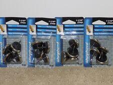 "Shepherd Hardware 9100 Cushioned Furniture Nail-On Glides 1-1/16"" 4pcs 8 Packs"