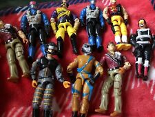 Mixed lots of 9 Hasbro Vintage GI Joe action figures 1989, 1990,1991
