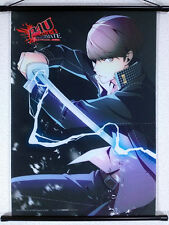 Persona 4 Arena Yu Narukami A3 Tapestry Wall Scroll WonderGOO Limited Bonus