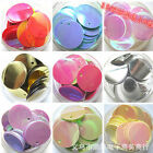 2016 NEW DIY 15MM 100pcs Shiny Round Loose Sequins Sewing Wedding Many Pick