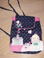 BNWT ❤Accessorize Angel Fairy  Girls Rucksack Appliqued and Embroidered ❤❤❤