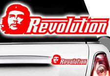 1x Che Guevara Rivoluzione AUTO STICKERS Castro TUNING DECAL Cuba Cuba Fidel XXR