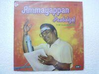 T M SOUNDERARAJAN AMMAYAPPAN PAADALGAL tamil  RARE LP CLASSICAL INDIA vg+