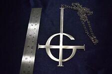 BIG Ghost bc Necklace Pendant band Papa Emeritus, Nameless Ghoul Logo Symbol