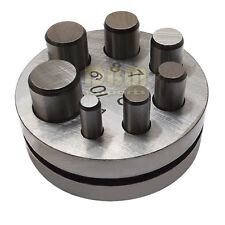 "Metal Round Disc Cutter 1/4"" - 5/8"" Cutting Hole Circle Punch Puncher 7 Die Size"