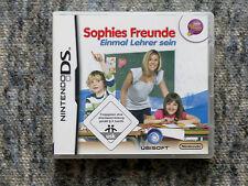 Sophies Freunde EINMAL LEHRER SEIN  Nintendo DS wie NEU 3307211311978