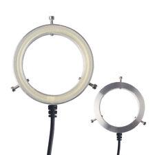 Ultrathin 60 LED Adjustable Ring Light illuminator Lamp For STEREO Microscope