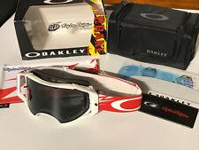 Oakley Airbrake MX Goggle TLD Signature 59-392 thunderbolt RWB/dark grey rare