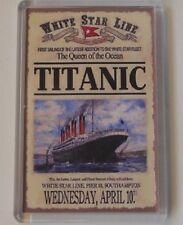 Titanic Vintage Travel Poster Fridge Magnet