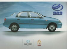 ZAZ Sens Car & Pick-up (base DAEWOO, made in Ucraina) _ 2008 prospetto/Brochure