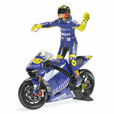 Minichamps Yamaha yzr-m1 GAULOISES Team MotoGP DONINGTON 2005 Rossi #46 , 1:12