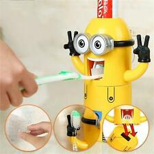 Minions Toothpaste Despicable Me Toothbrush Holder Dispenser 2 Styles