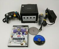 Nintendo GameCube Black System + Controller and 2 Games Prince Of Persia Bundle!