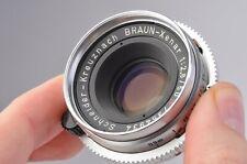 MINT- SCHNEIDER KREUZNACH BRAUN-XENAR 50mm F2.8R LENS, VERY CLEAN, DKL MOUNT.