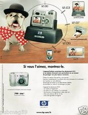 Publicité advertising 2002 Appareil photo numérique HP