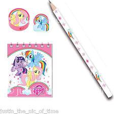 MY LITTLE PONY Birthday Party Bag Fillers Favours 20 Piece Stationery Pack