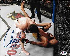 Chael Sonnen Signed UFC 8x10 Photo PSA/DNA COA 117 148 Picture vs Anderson Silva