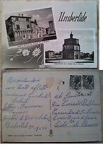 Umbertide: Vedutine, Mura e Rocca, Colleggiata di S. Maria, viaggiata nel 1956