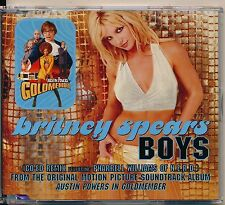 Britney Spears Boys Rare Australian 4 Track CD Single