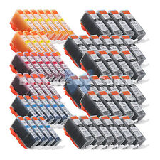 60 PACK PGI-225 CLI-226 Ink for Canon Printer PIXMA iX6520 MG6120 MG8120 *30PGI