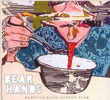 Burning Bush Supper Club [Digipak] by Bear Hands (CD, Nov-2010, Cantora Records)