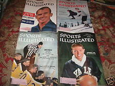 Sports Illustrated - January 1957 - 3 different issues