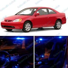 Ultra Blue Interior LED Package For Honda Civic  2001-2005 (6 Pieces) #88