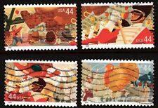 Scott #4417-20 Used Set of 4, Thanksgiving Day Parade (Off Paper)