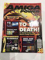 Amiga Power Magazine Issue #33- Future Publishing - Commodore Amiga