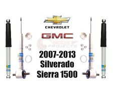 Bilstein B8 5100 Adjustable Front Shocks w/ Rear Set For Silverado Sierra 1500