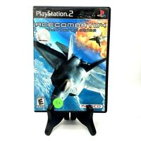 Ace Combat 4 Shattered Skies Sony PlayStation 2 Complete Very Good Namco Tested