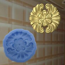 Gießformen Verzierung Silikonformen Gips Ornament Relief Deckenverzierung  (166)