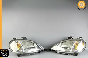 98-01 Mercedes W163 ML55 AMG ML320 Right and Left Headlight Lamp Xenon Set OEM