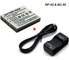 Battery + Charger for Kodak EasyShare C763 KLIC-7005 Ricoh Caplio 10G D-LI8
