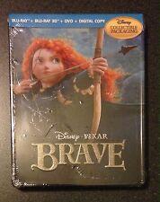 BRAVE 3D Blu Ray SteelBook Future Shop Exclusive 5-Disc Digital Copy New OP Rare