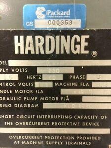hardinge hlv lathe Carriage and parts