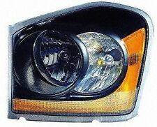 DODGE DURANGO 2004 2005 HEADLIGHTS BLACK