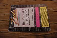 Ticket Einstürzende nuevas construcciones 1987 Germany
