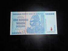 Zimbabwe 100 Trillion Dollars, AA /2008,  ,almost unc 100 Trillion Series