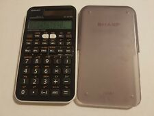 sharp EL-510RN scientific calculator advanced D.A.L. tested working cover solar