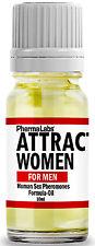 The Secret To ATTRACT Beautiful WOMEN ! SEX PHEROMONES Oil Formula 10ML #025