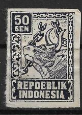 Ned. Indie Repoeblik Indonesia Java- Madoera Zonnebloem 34A