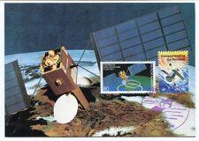 1986 Europaische Satellitentechnik TV-SAT/TDF-1 Earth Resources Deutsche USA SAT