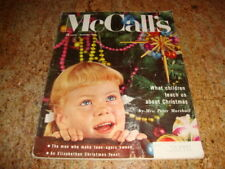 DEC 1955 McCALL's Magazine CHILDREN TEACH CHRISTMAS Peter Marshall + Teen-Agers
