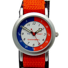 Cannibal Childs Time Teacher Watch Analog Red Hook & Loop Sports Strap CT003.06